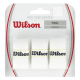 Wilson Pro Overgrip Perforated Blanc - Pack de 3