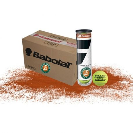 Carton de Balles Babolat French Open All Court - 18 Tubes de 4