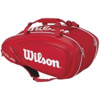 Wilson Tour V 9 Pack Rouge