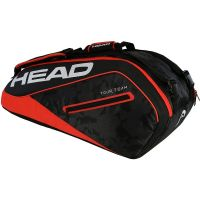 Head Tour Team 9R Supercombi Noir et Rouge 2018